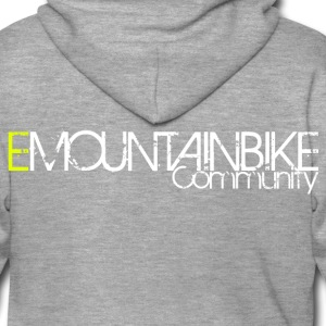 '' EMOUNTAINBIKE Community Logo '' Shirt - Men's Premium Hooded Jacket