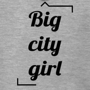 Big City Girl - Rozpinana bluza męska z kapturem Premium