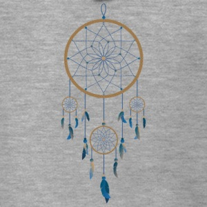 Kultura Dream catcher - Rozpinana bluza męska z kapturem Premium