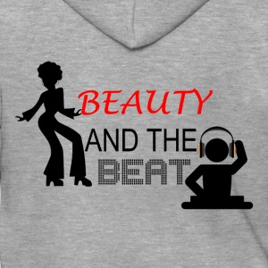 Beauty and the Beat - Men's Premium Hooded Jacket