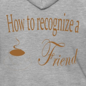 2016 - mogosop - how to recognize a friend - Mannenjack Premium met capuchon