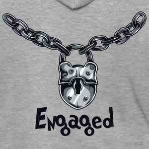 Engaged Chained - Men's Premium Hooded Jacket