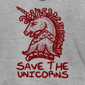 Unicorn - Save The Unicorns - Mannenjack Premium met capuchon