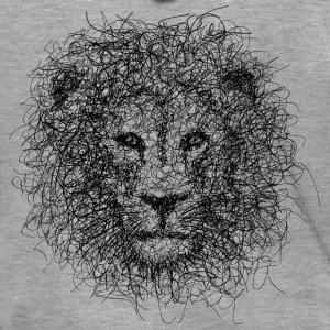 Lion Scribble - Premium Hettejakke for menn