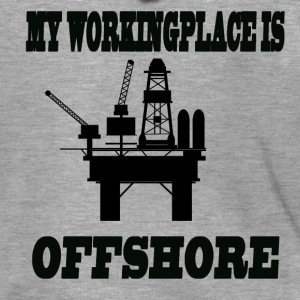 MY WORKINGPLACE IS OFFSHORE - Men's Premium Hooded Jacket
