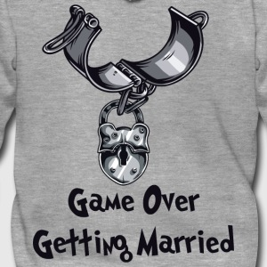 Game Over Getting Married - Veste à capuche Premium Homme