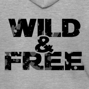 WILD & FREE - Men's Premium Hooded Jacket
