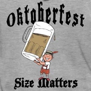 Oktoberfest Size Matters - Men's Premium Hooded Jacket