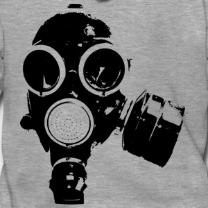 GAS MASK / ROCK N ROLL T-SHIRT - Men's Premium Hooded Jacket