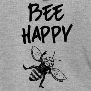 ++ ++ Bee Happy - Men's Premium Hooded Jacket