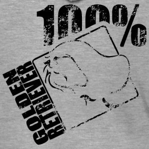Golden Retriever 100 - Premium Hettejakke for menn