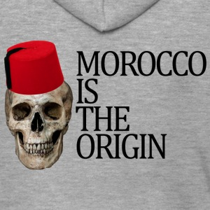 Morocco Is The Origin - Veste à capuche Premium Homme