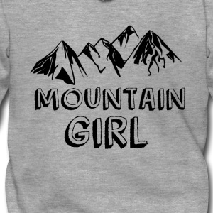 Mountain girl - Men's Premium Hooded Jacket