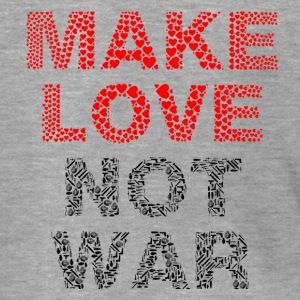 Make Love not War - Männer Premium Kapuzenjacke