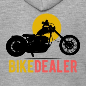 Bike Dealer · LogoArt - Premium Hettejakke for menn