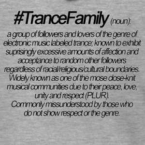 Definition of Trance Family - Men's Premium Hooded Jacket