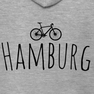 Bicycle Hamburg - Men's Premium Hooded Jacket