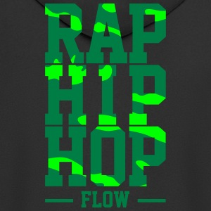 Rap Hip Hop Flow - Men's Premium Hooded Jacket
