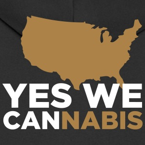 Yes We Cannabis! - Men's Premium Hooded Jacket