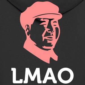 LMAO: Laughing Mao Zedong - Men's Premium Hooded Jacket