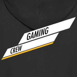Gaming Crew bar Design - Premium Hettejakke for menn
