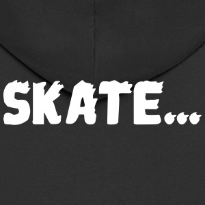 skate ... - Men's Premium Hooded Jacket