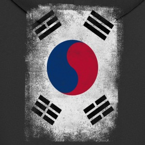South Korea Flag Proud Korean Vintage Distressed - Men's Premium Hooded Jacket