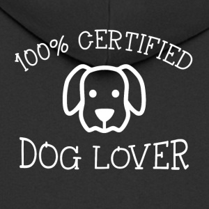 Dog Lovers - Men's Premium Hooded Jacket