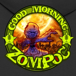Good Morning Zompoc Podcast - Mannenjack Premium met capuchon