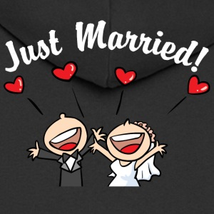 Cute Just Married - Premium Hettejakke for menn