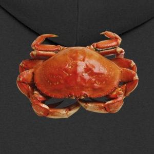 Red crab - Men's Premium Hooded Jacket