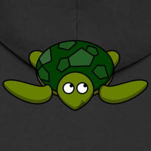 Sweet turtle - Men's Premium Hooded Jacket