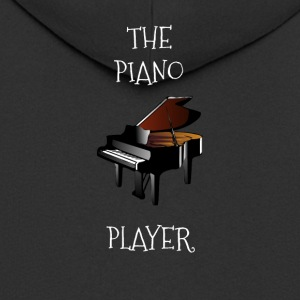 The piano player - Men's Premium Hooded Jacket