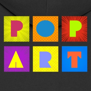 Pop art - Men's Premium Hooded Jacket