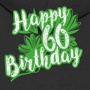 60 Birthday - Congratulations gift - Men's Premium Hooded Jacket