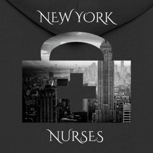 New York Nurses NY nurses - Men's Premium Hooded Jacket