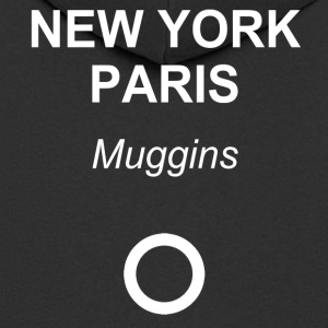 New York, Paris, Muggins! - Männer Premium Kapuzenjacke