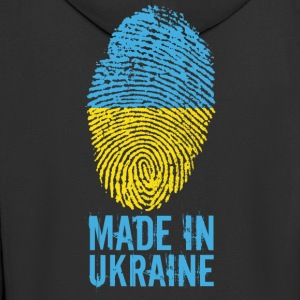 Made in Ukraine / Gemacht in Ukraine Україна - Männer Premium Kapuzenjacke