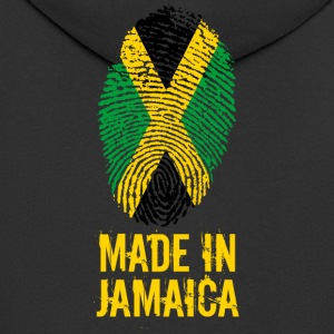 Made In Jamaica / Made in Jamaica - Felpa con zip Premium da uomo