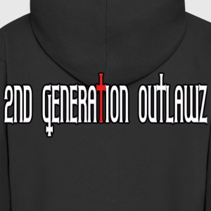 2nd Generation Outlawz / 2go - Men's Premium Hooded Jacket