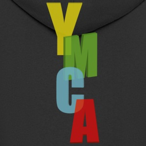 ymca - Men's Premium Hooded Jacket