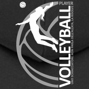 Volleyball Player - DONNA - Felpa con zip Premium da uomo