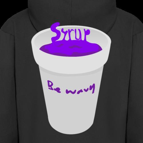 Syrup logo - Men's Premium Hooded Jacket