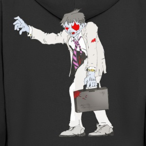 Zombie Collection: Suit Zombie - Men's Premium Hooded Jacket