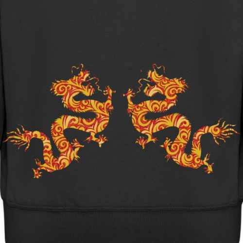 chinese-dragon - Men's Premium Hooded Jacket