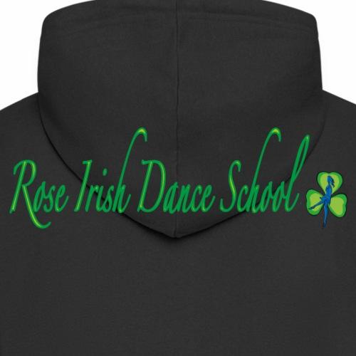 Rose Irish Dance School - Mannenjack Premium met capuchon