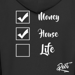 (BUT) MONEY HOUSE AND LIFE - Men's Premium Hooded Jacket