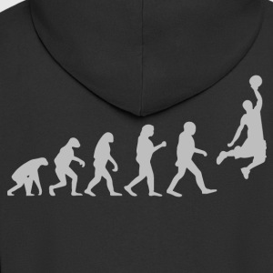Basketball evolution - Men's Premium Hooded Jacket