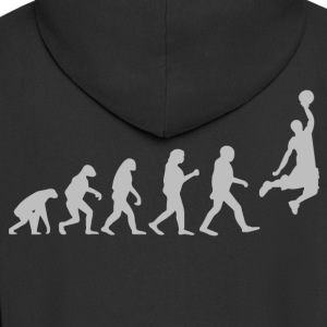 Basketball evolution - Herre premium hættejakke