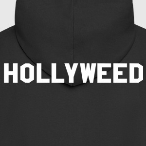 HOLLYWEED - Felpa con zip Premium da uomo